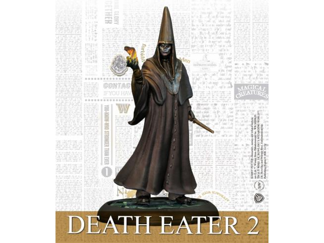 KNIGHT MODELS HPMAG BARTY CROUCH JR & DEATH EATERS WARGAME