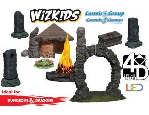 WIZKIDS WIZKIDS 4D SETTINGS: JUNGLE SHRINE SCENARIO