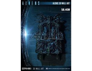 PRIME 1 STUDIO ALIENS 3D WALL ART WALL PLAQUE