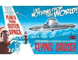 POLAR LIGHT PLAN 9 FROM OUTER SPACE FLYING SAUCER MK MODEL KIT