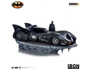 IRON STUDIO BATMAN 1989 BATMAN & BATMOBILE 1/10 STAT STATUA
