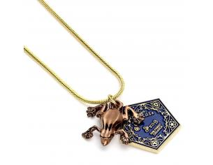 CARAT HARRY POTTER CHOCOLATE FROG NECKLACE COLLANA