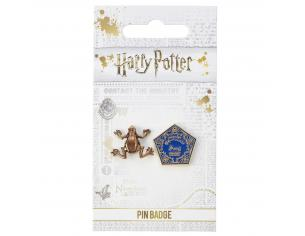 Harry Potter Spilla Distintivo Cioccorana 2,5 x 1,6 cm The Carat Shop