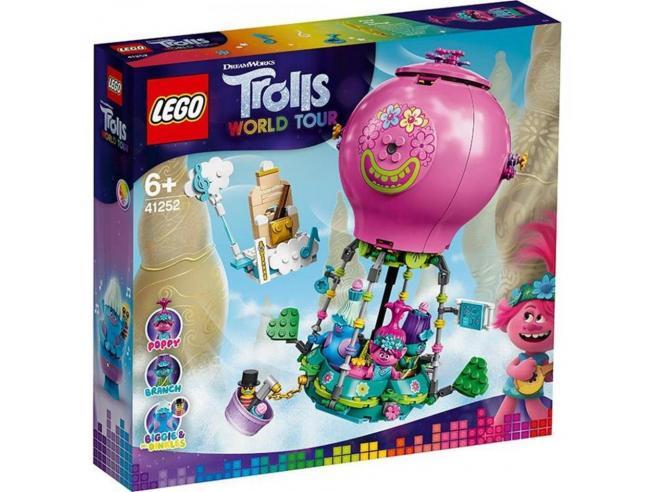 LEGO TROLLS WORLD TOUR 41252 - AVVENTURA IN MONGOLFIERA DI POPPY
