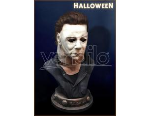 HOLLYWOOD COLLECTIBLES HALLOWEEN MICHAEL MYERS LIFE SIZE BUST BUSTO