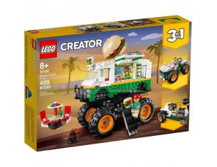 LEGO CREATOR 31104 - MONSTER TRUCK DEGLI HAMBURGER