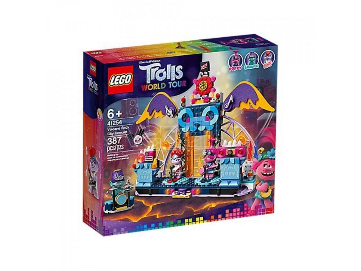 LEGO TROLLS WORLD TOUR 41254 - CONCERTO A VULCANO ROCK CITY
