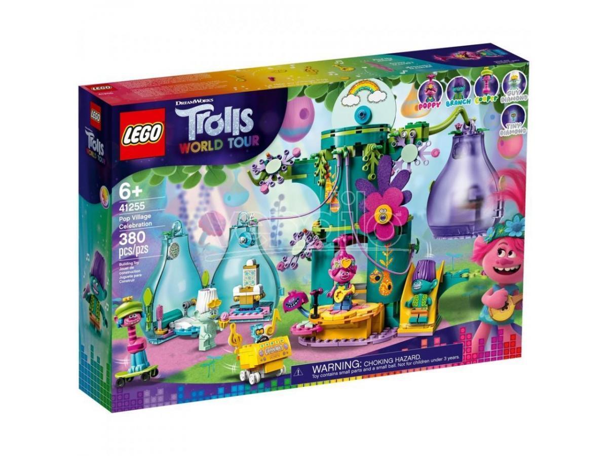 LEGO TROLLS WORLD TOUR 41255 - FESTA AL VILLAGGIO POP