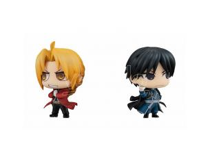 Megahouse Fullmetallo Alchemist Edward & Roy Set Mini Figura