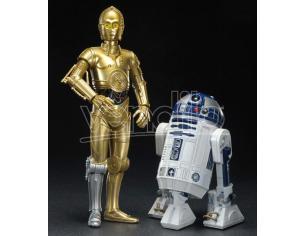 Star Wars C-3PO + R2-D2 Droidi ARTFX Pacco con 2 figure 1/10 Kotobukiya