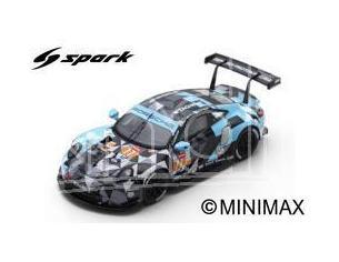 Spark Model S87146 PORSCHE 911 RSR N.77 WINNER LMGT 2018 M.CAMPBELL-C.RIED-J.ANDLAUER 1:87 Modellino