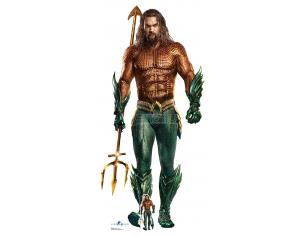 STAR AQUAMAN JASON MOMOA LIFESIZE CUTOUT Sagomato Lifesize