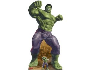 STAR AVENGERS THE INCREDIBLE HULK CUTOUT Sagomato Lifesize