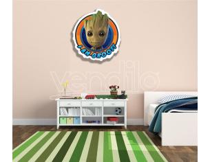 STAR GOTG I AM GROOT WALL MOUNTED CUT OUT Sagomato Da Muro