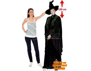 STAR HP PROF McGONAGALL LIFESIZED CUTOUT Sagomato Lifesize