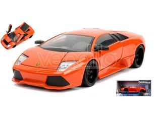 Jada Toys Jada30765 Roman's Lamborghini Murcielago Arancione Fast & Furious 1:24 Modellino