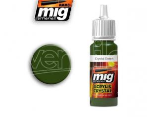 AMMO BY MIG JIMENEZ CRYSTAL GREEN 0092 COLORI