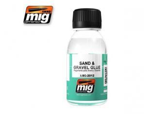 Ammo By Mig Jimenez Sand E Gravel Glue 2012 Accessori Per Modellismo