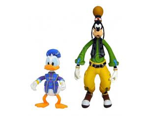 DIAMOND SELECT KINGDOM HEARTS 3 SELECT GOOFY & DONALD ACTION FIGURE