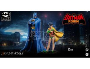 KNIGHT MODELS BMG DYNAMIC DUO NEW RESIN SET WARGAME