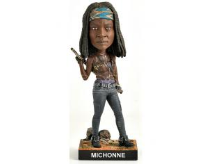 ROYAL BOBBLES THE WALKING DEAD MICHONNE BOBBLEHEAD HEADKNOCKER