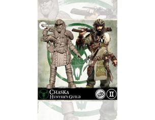 STEAMFORGED GAMES GUILD BALL HUNTERS CHASKA GIOCO DA TAVOLO