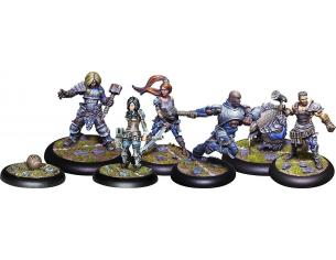 STEAMFORGED GAMES GUILD BALL MASONS PUNISHING MARCH GIOCO DA TAVOLO