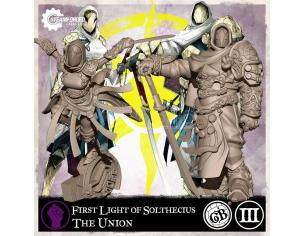 STEAMFORGED GAMES GUILD BALL UNION FIRST LIGHT SOLTHECIUS GIOCO DA TAVOLO