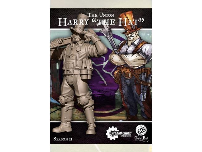 STEAMFORGED GAMES GUILD BALL UNION HARRY THE HAT HALLAHAN GIOCO DA TAVOLO