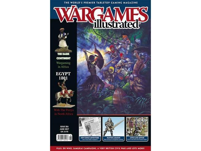 WARLORD GAMES WARGAMES ILLUSTRATED 356 RIVISTA