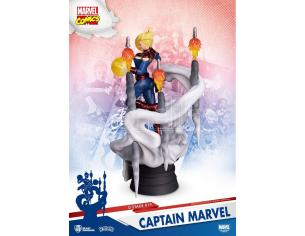 BEAST KINGDOM D-STAGE MARVEL COMICS CAPTAIN MARVEL FIGURA