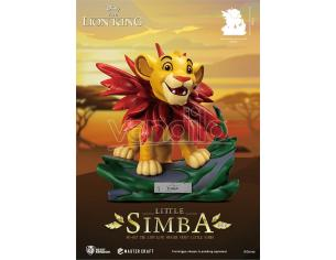 BEAST KINGDOM THE LION KING MASTER CRAFT LITTLE SIMBA STATUA