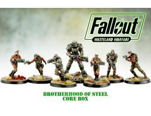 MODIPHIUS FALLOUT WW BROTHERHOOD OF STEEL CORE BOX GIOCO DA TAVOLO
