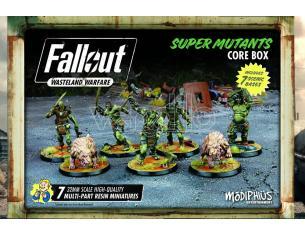 MODIPHIUS FALLOUT WW SUPER MUTANTS CORE BOX GIOCO DA TAVOLO