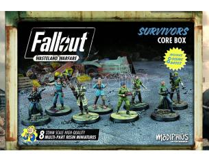 MODIPHIUS FALLOUT WW SURVIVORS CORE BOX GIOCO DA TAVOLO