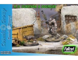 MODIPHIUS FWW X-01 SURVIVOR & DOGMEAT WARGAME