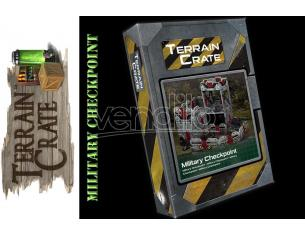 Mantic Games - Terrain Crate - Military Checkpoint Gioco di ruolo