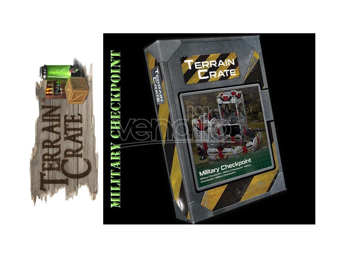 Mantic Games - Terrain Crate - Military Checkpoint Gioco di ruolo