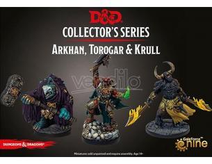 GF9-BATTLEFRONT D&D BG DIA ARKHAN, TOROGAR & KRULL Miniature e Modellismo