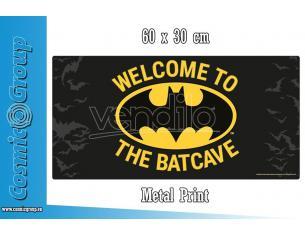 PYRAMID INTERNATIONAL BATMAN BATCAVE METAL SIGN POSTER