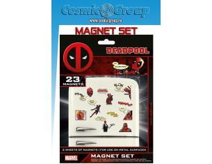 PYRAMID INTERNATIONAL MARVEL DEADPOOL MAGNET SET MAGNETI