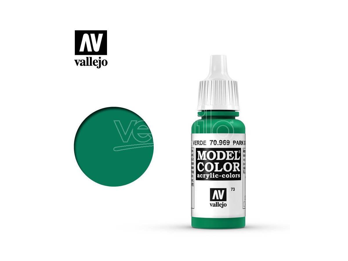 VALLEJO MC 073 PARK FLAT GREEN 70969 COLORI