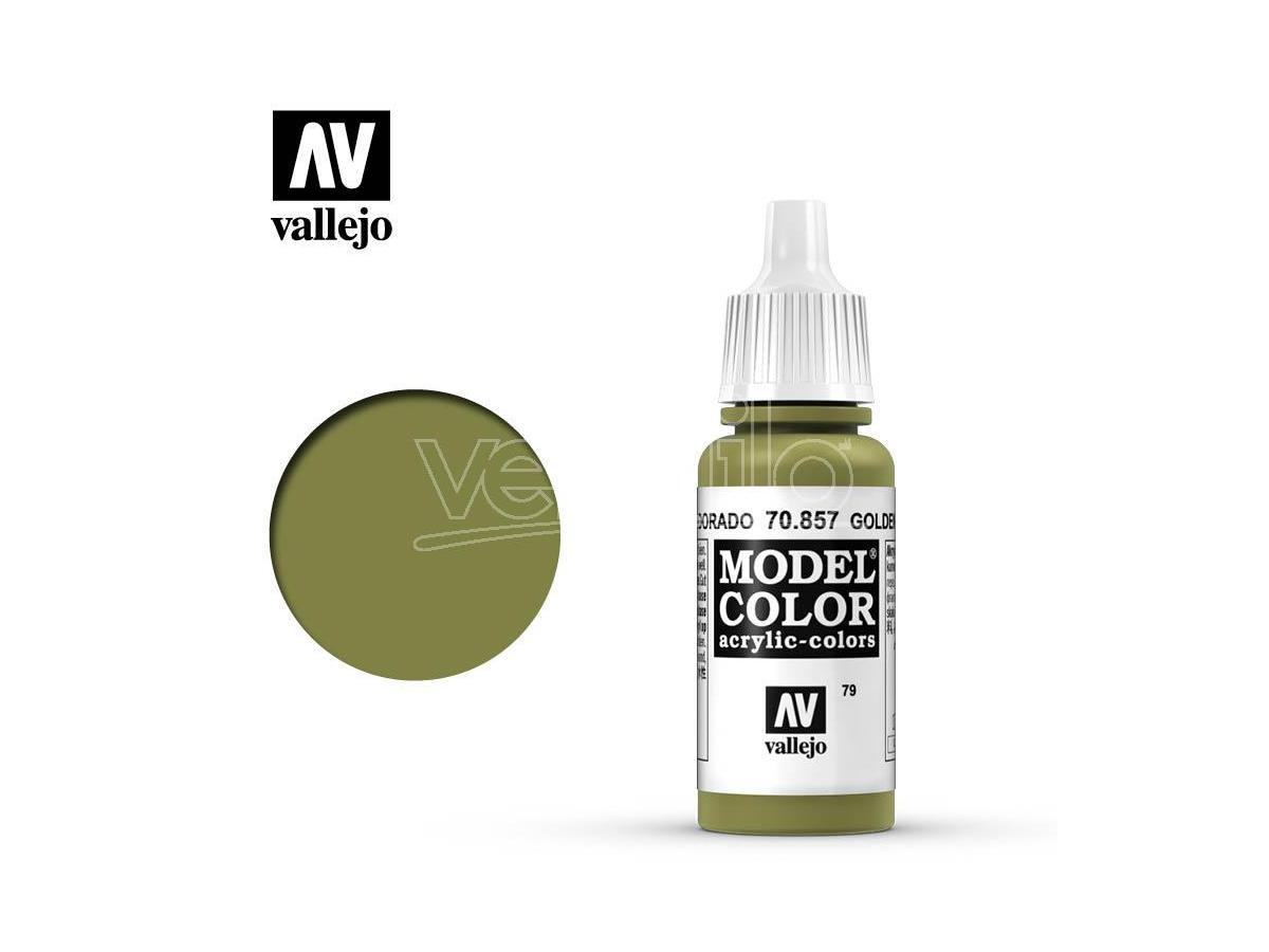 VALLEJO MC 079 GOLDEN OLIVE 70857 COLORI