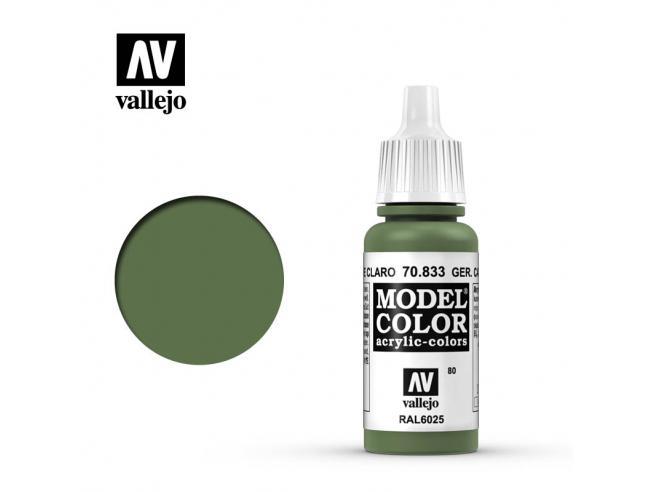 VALLEJO MC 080 GER CAM BRIGHT GREEN 70833 COLORI