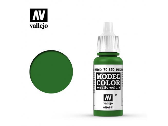 VALLEJO MC 081 MEDIUM OLIVE 70850 COLORI
