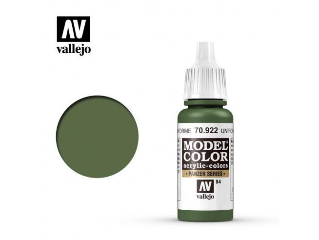 Vallejo Mc 084 Uniforme Green 70922 Colori