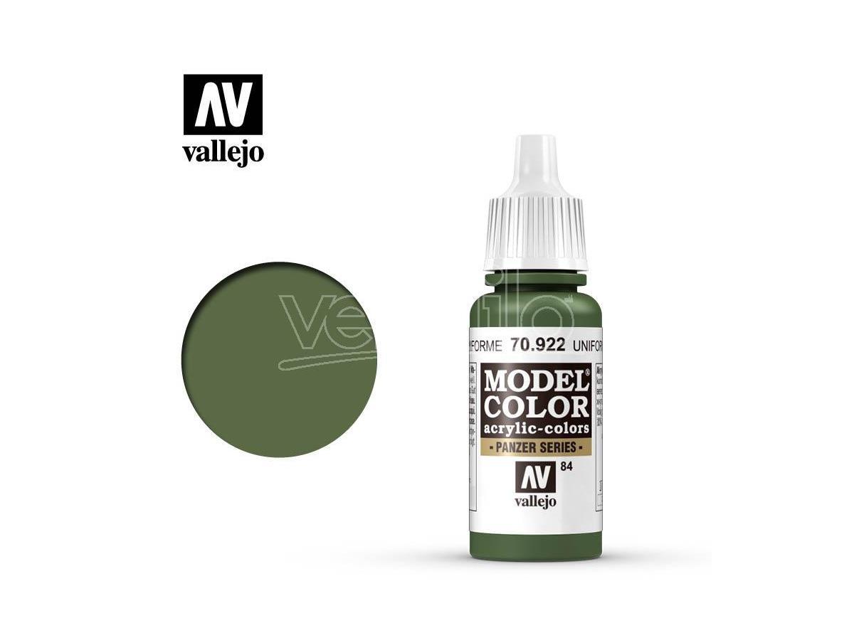 VALLEJO MC 084 UNIFORM GREEN 70922 COLORI