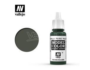 VALLEJO MC 087 YELLOW OLIVE 70892 COLORI