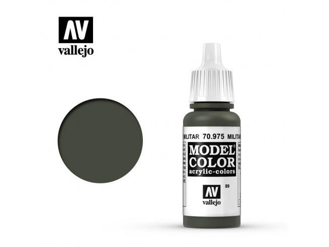 VALLEJO MC 089 MILITARY GREEN 70975 COLORI