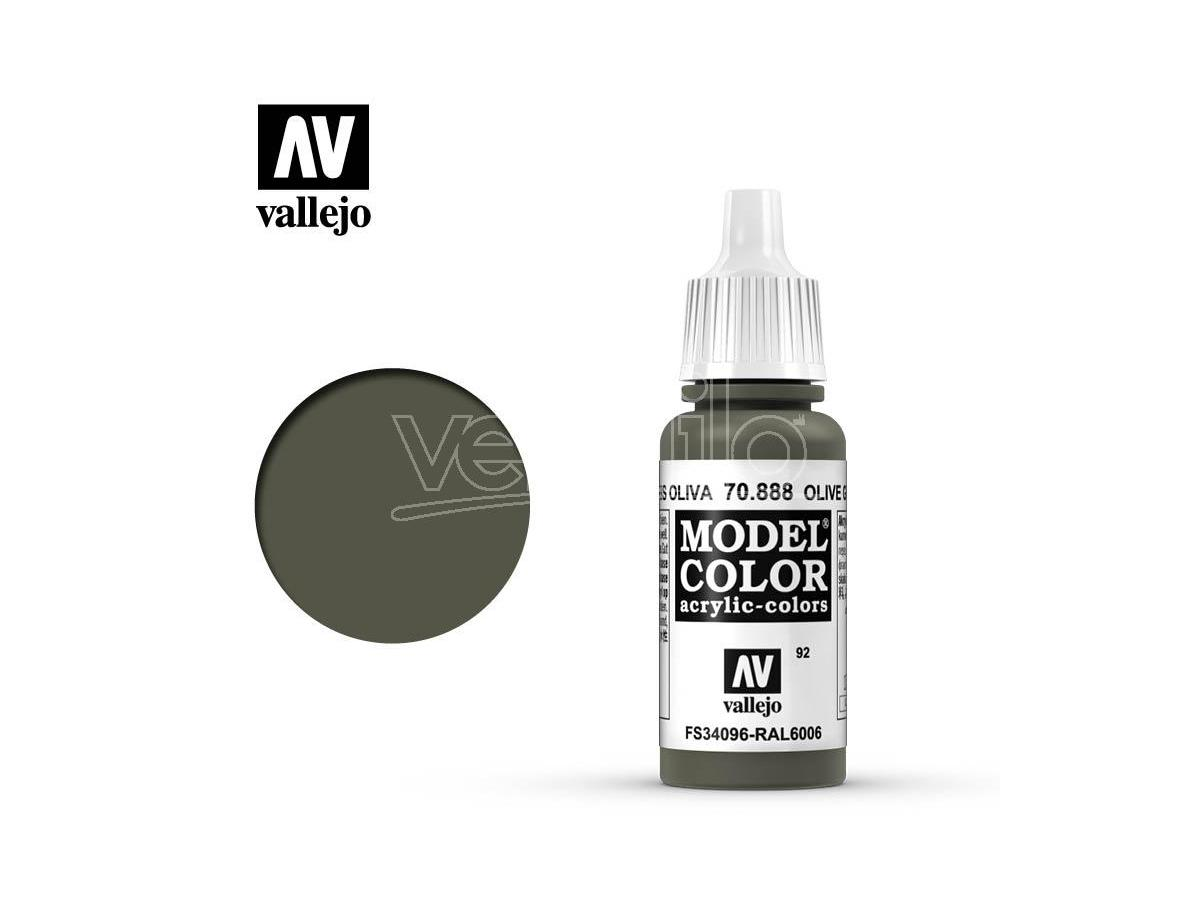 VALLEJO MC 092 OLIVE GREY 70888 COLORI